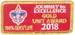 Journey to Excellence 2018 Gold 100% Boys' Life